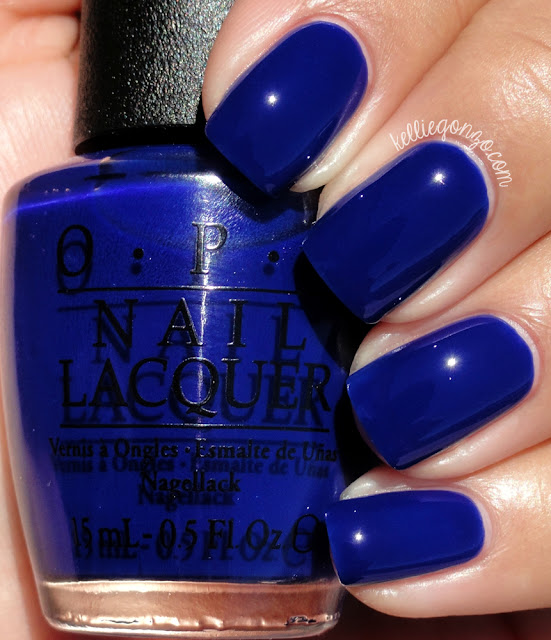OPI My Car Has Navy-gation