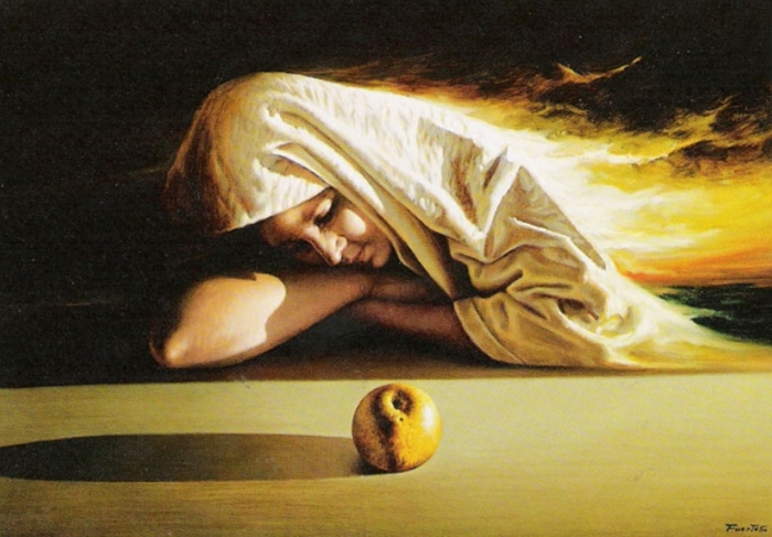 Antonio Fuertes 1940-1988 | Spanish Realistic Figurative painter