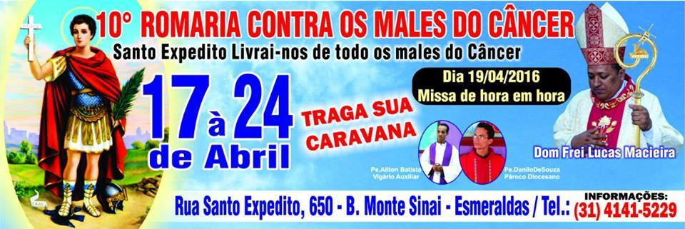 Festa de Santo Expedito - Esmeraldas-MG
