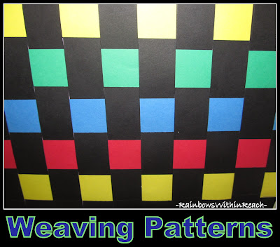 photo of: Weaving Project as Exploration of Math Patterns