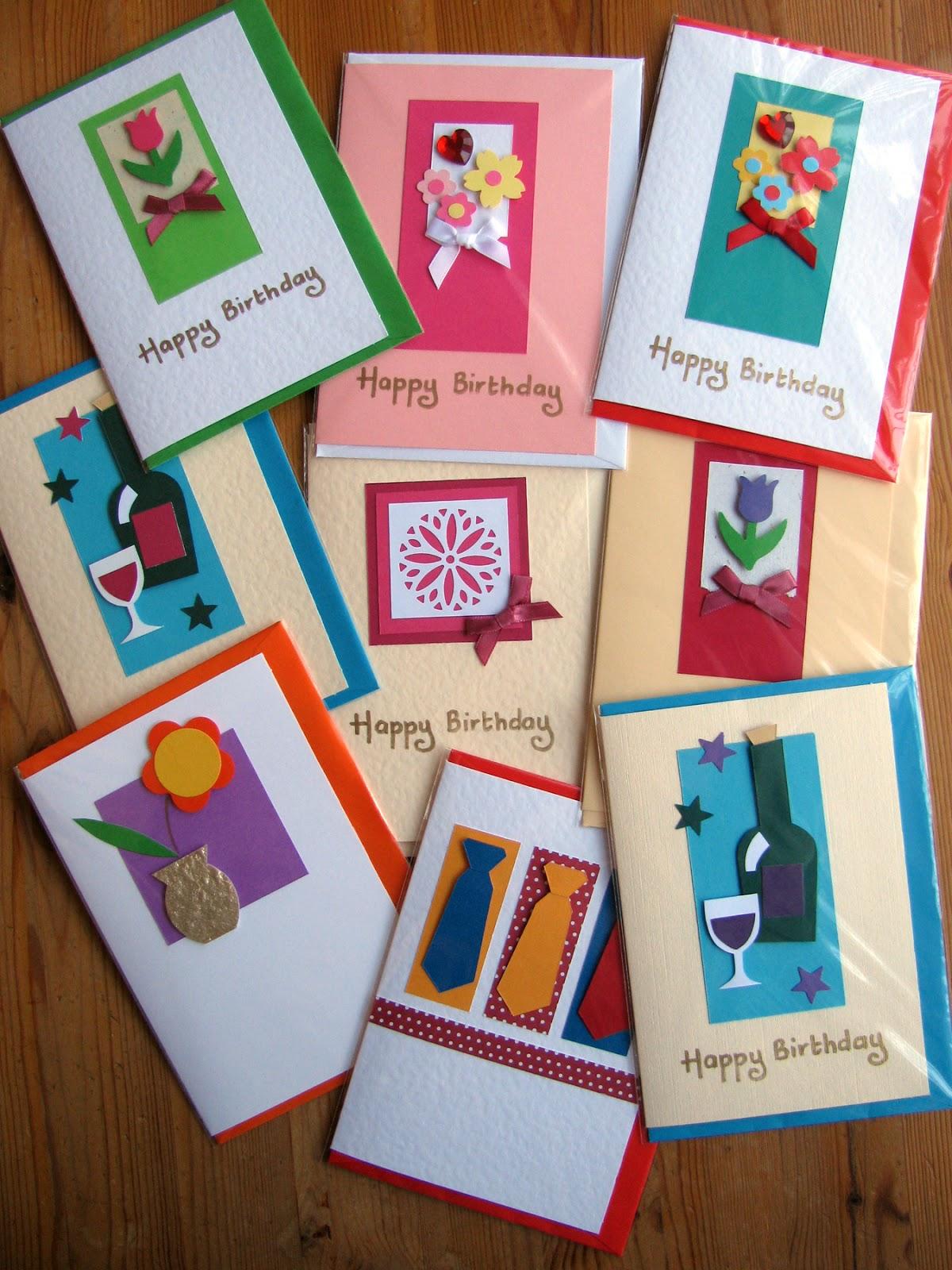 Handmade Birthday Cards For Him – gangcraft