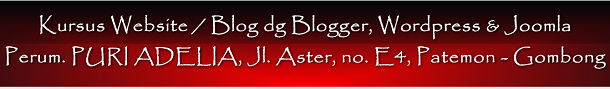 Kursus Blog dan Website