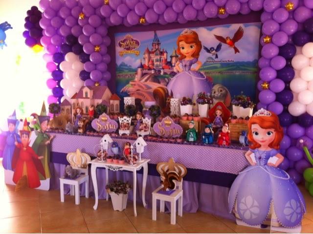 MuyAmeno.com: Fiestas Infantiles Princesa Sofia, parte 1