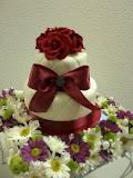 Two tiers mini cake