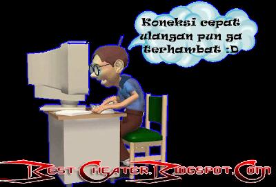 -= Mempercepat Koneksi Internet =-