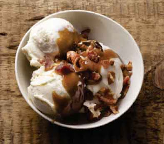 Beer-and-Bacon Toffee Sundaes