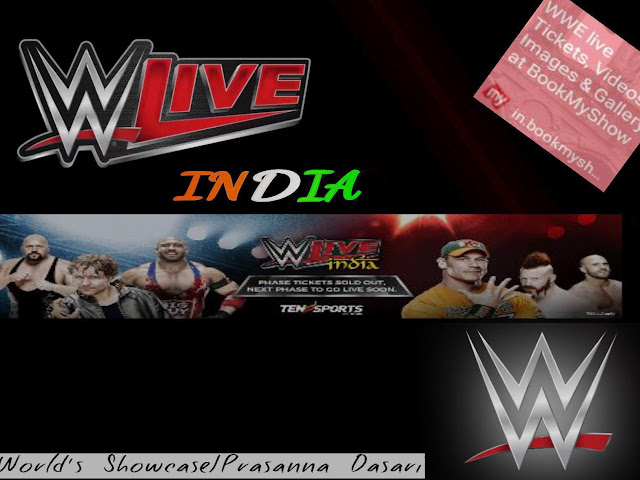 WWE Touring India In January 2016