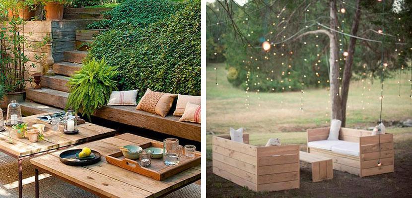 Dolce hogar ilumina con guirnaldas for Jardines reciclados
