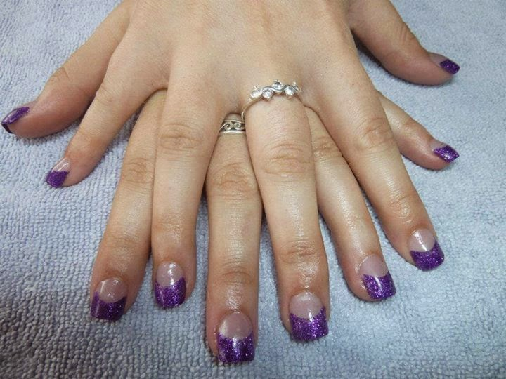 purple glitz Frenchies-LED-polish-manicure-natural-nails-classic-French-acrylics-simple-nail-art-acrylic-gelish-gel-Nail-Polish-OPI-Lacquer-Pedicure-care-natural-healthcare-beauty-pink-crystal-USA-UK-colour-silverPurple-frenchies--LED-polish-manicure-natural-nails-classic-French-pink-crystal-acrylics-simple-nail-art-acrylic-backfill-gelish-colour-pink-silver-gel-OPI-Lacquer-Pedicure-care-natural-healthcare-Gel-Nail-Polish-beauty-nails-Nail-Art-USA-UK