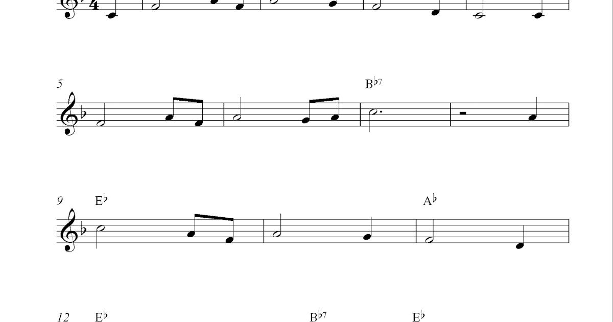 Amazing Grace, free clarinet sheet music notes