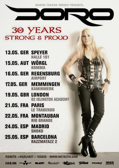 http://www.madnesslive.es/2013/12/doro-celebrando-su-gira-30-aniversario-en-mayo/