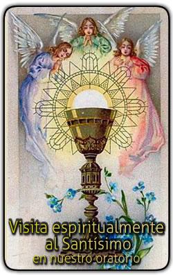 Visita a Jesús Sacramentado