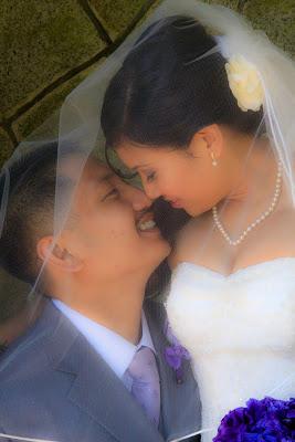 wedding photo Hatley Castle, Victoria, BC