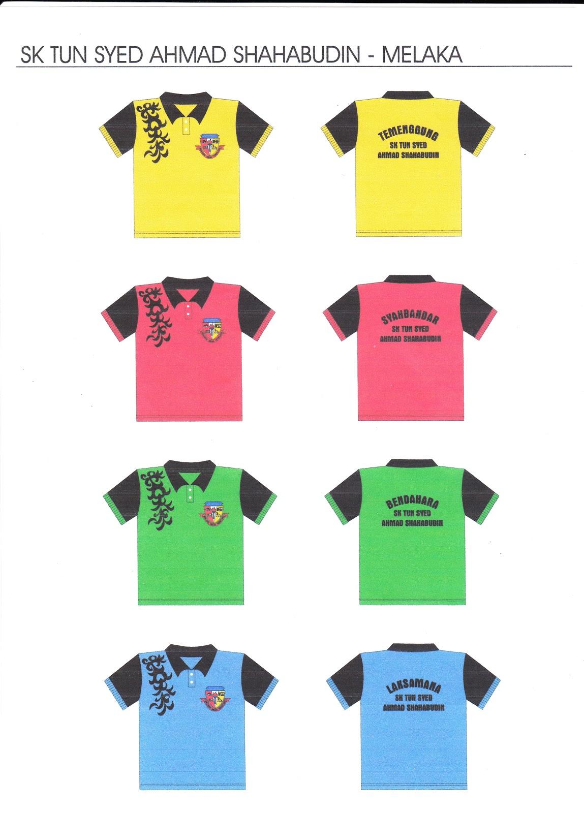 Design t shirt rumah sukan - Tempahan T Shirt Rumah Sukan Sk Tun Sas 2011