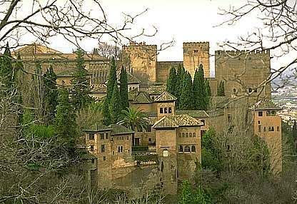 Alhambra, toamna