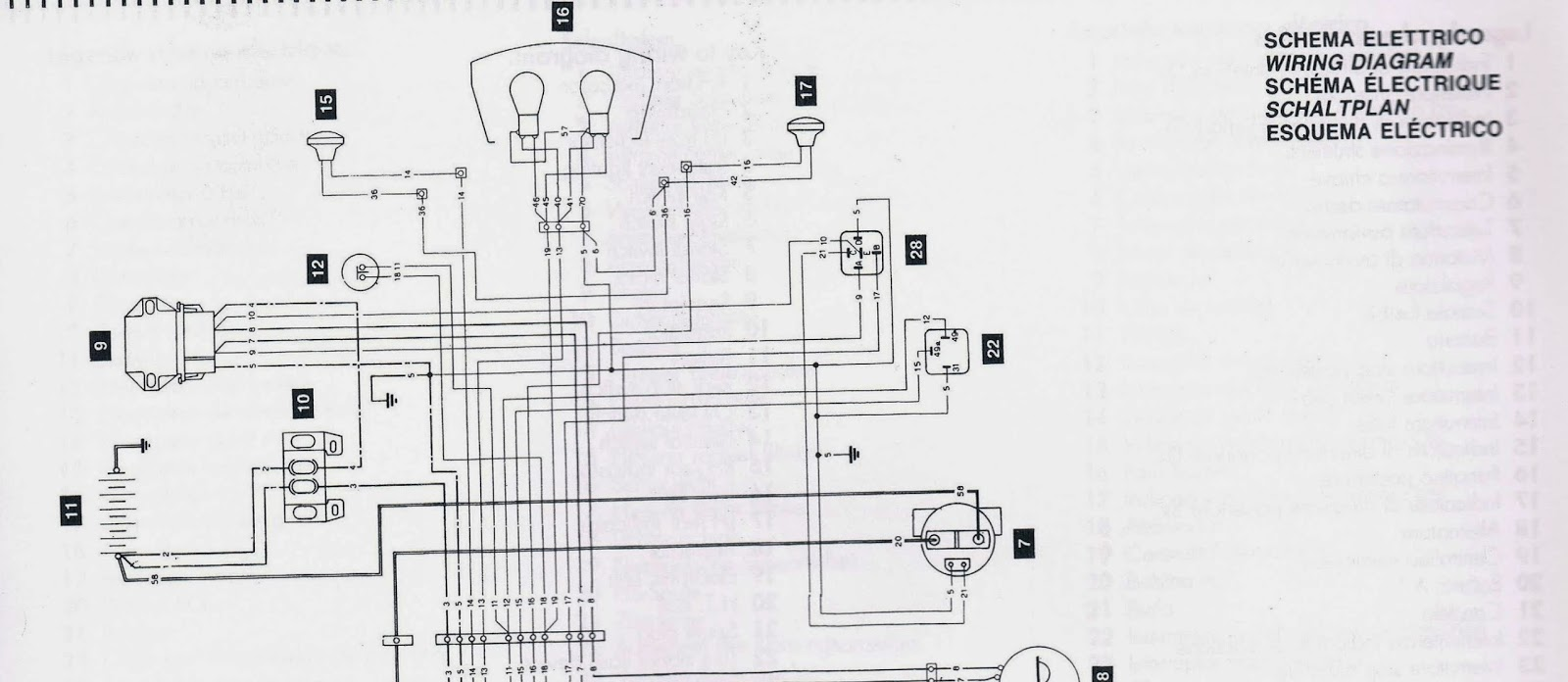 Cagiva Mito 125 Wiring Diagrams Electrics Evo E Bike 24v Diagram Manual