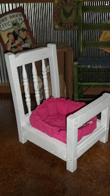 Doggie Bed From Chair