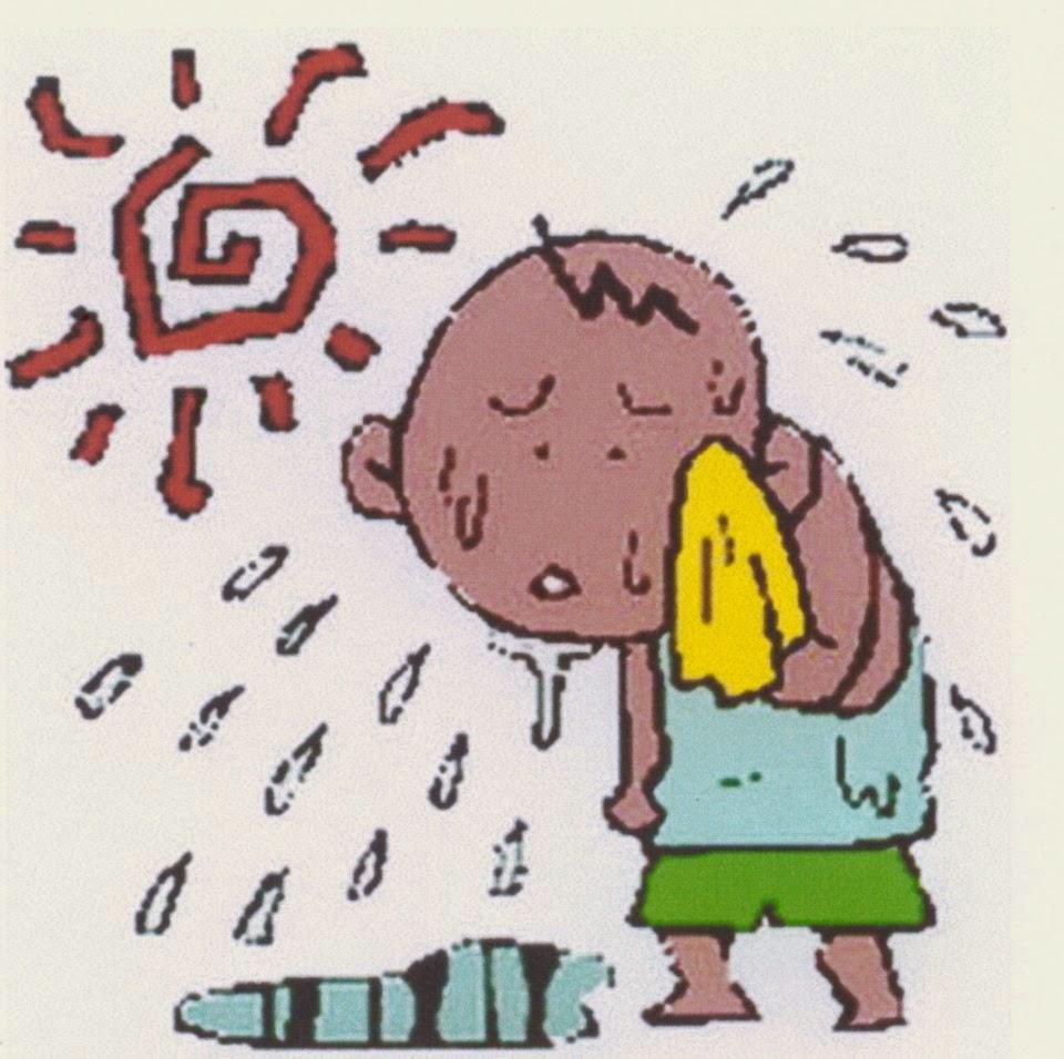 Kumpulan Gambar Dp Bbm Cuaca Panas Humor Campuran