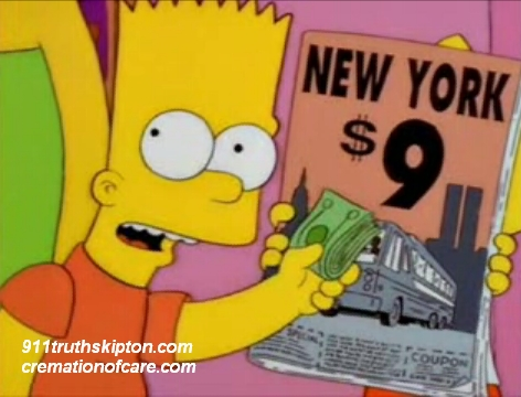 Episode Of The Simpsons warned of 911 6 months ahead in 2001Illuminati Secrets 911