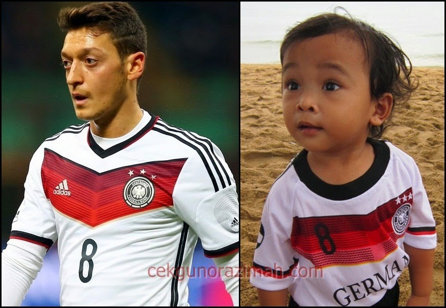 2014 FIFA World Cup : Ozil vs Irfan