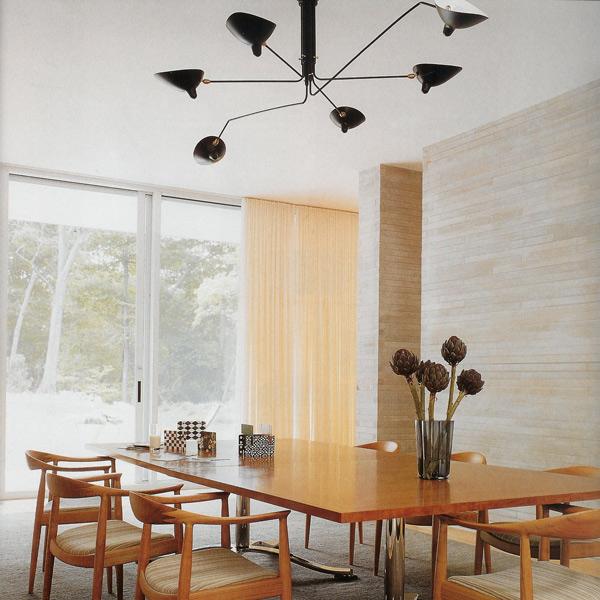 jenn ski serge mouille lighting. Black Bedroom Furniture Sets. Home Design Ideas