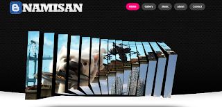 Namisan - Stunning Slider Blogger Template