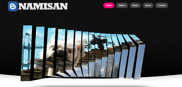 Namisan Wordpress and Blogger Theme Template