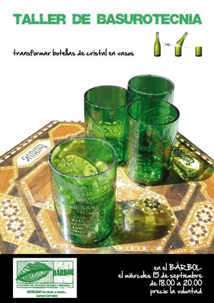BASUROTECNIA: Cómo hacer vasos con botellas