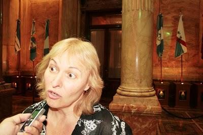 Duras criticas de la Senadora Diaz a Rios