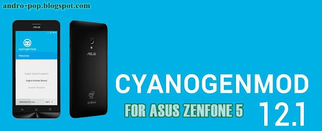 ROM Asus Zenfone 5 CyanogenMOD 12.1 (Un Official)