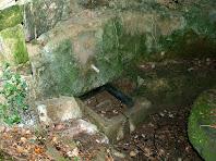 La Font de Sant Ramon amb la seva pica de pedra picada