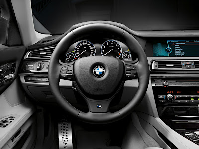 Interior of 2012 BMW 7 Series.