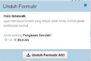 cara download formulir nuptk online