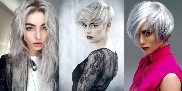 Awesome New Silver Hairstyles! - OMG Love Beauty!