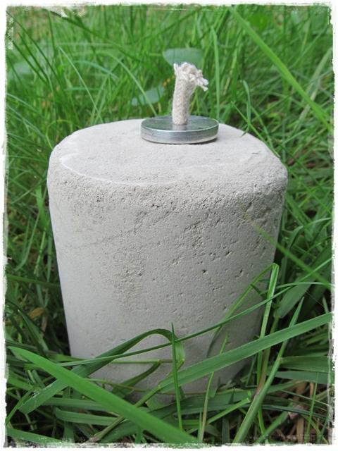 lebenspuzzle eine llampe aus beton. Black Bedroom Furniture Sets. Home Design Ideas