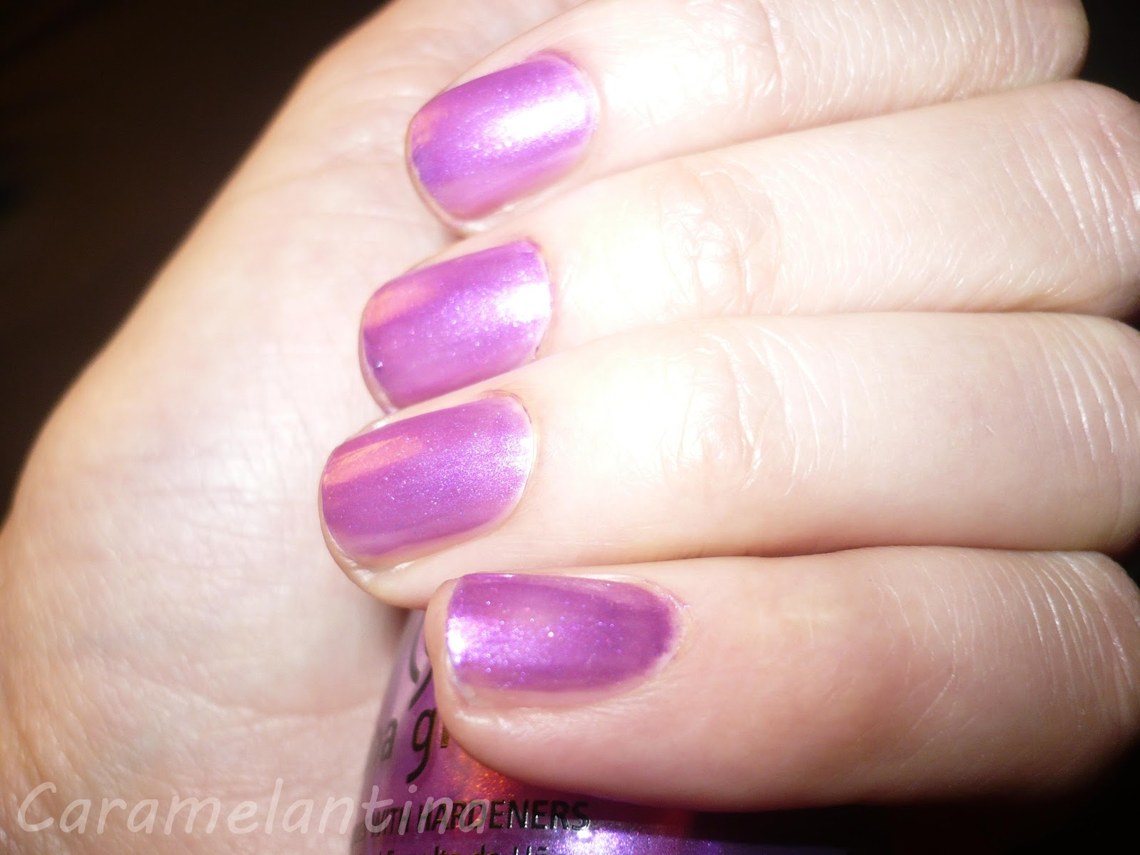 China Glaze Señorita Bonita, opiniones swatch review