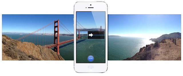 Panorama Mode on iOS 6 Camera