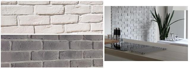 gipsowa imitacja cegły
