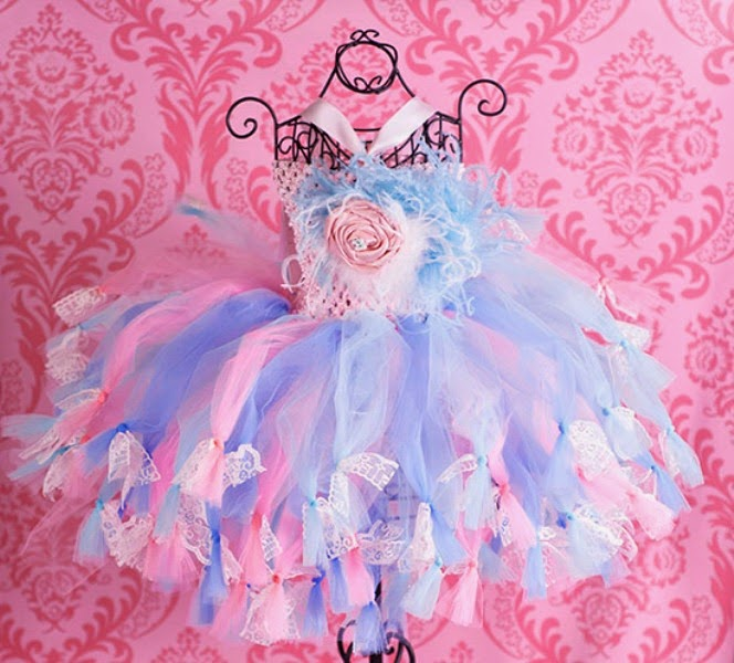 Baju anak model tutu dress bella rose