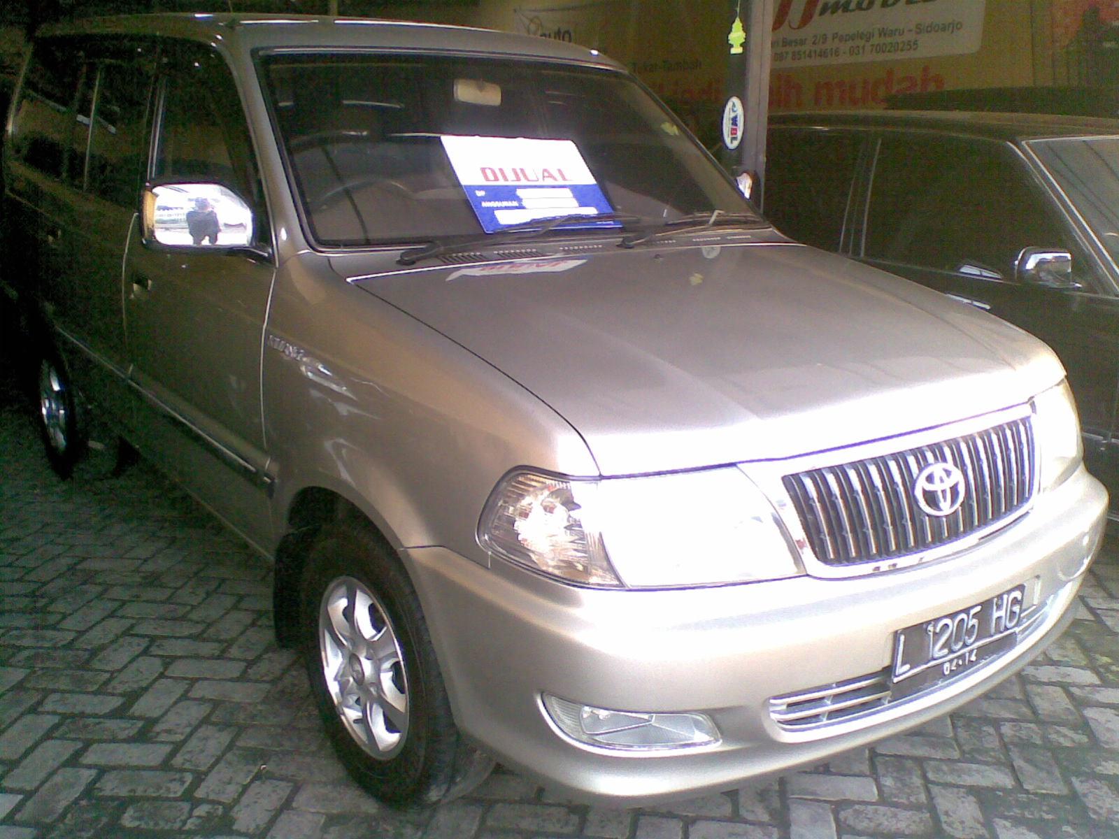 Toyota Kijang LGX 1.8 2003 Silver M/T