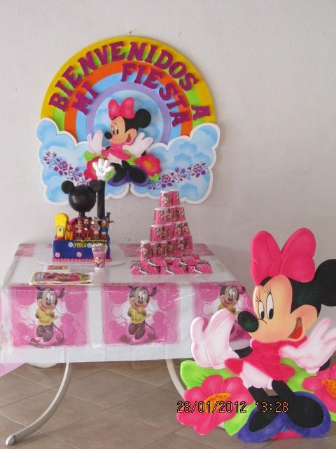 Decoracion de fiestas infantiles de minnie best minnie - Decoracion fiestas tematicas ...