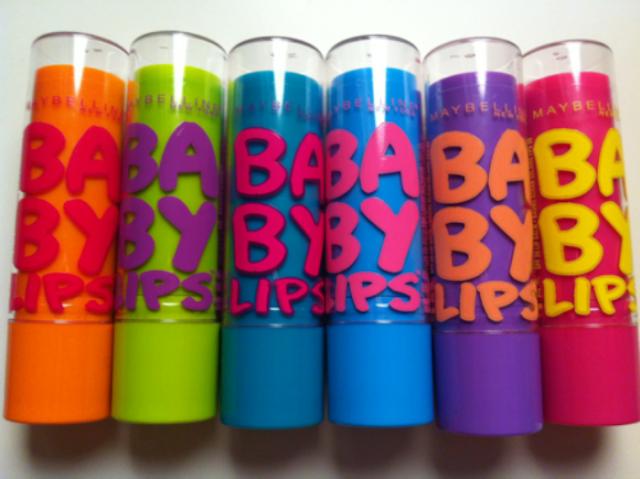 Baby Lips: Hidratação prolongada