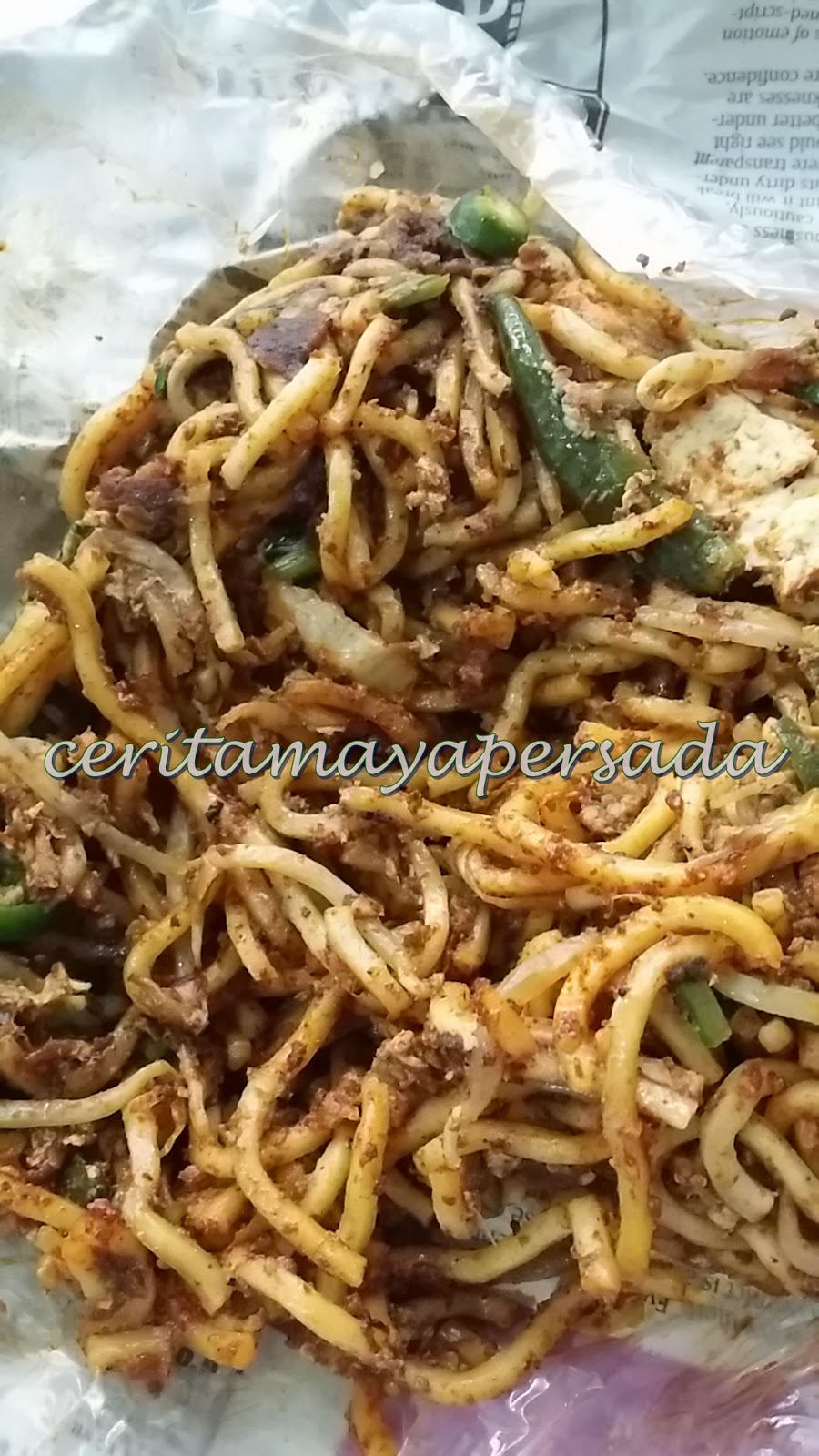 Lunch Mee Goreng Mamak