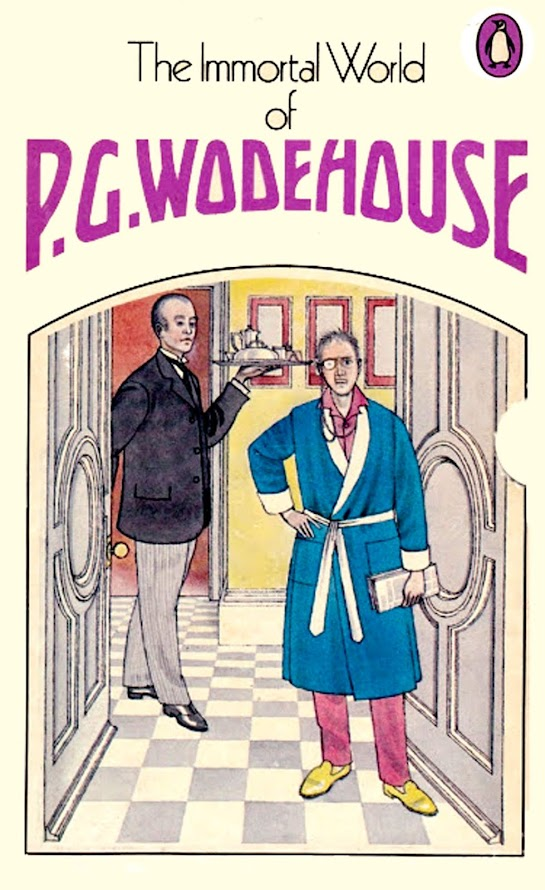 The Immortal World of PG Wodehouse (cover)