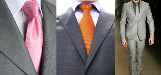 Mixwix69 entertainment organization shirt and tie combos for Grey shirt and tie combinations