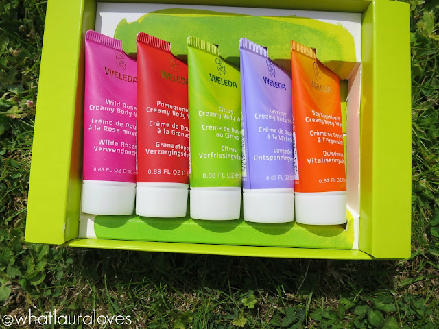 Weleda Creamy Body Washes Travel Minis