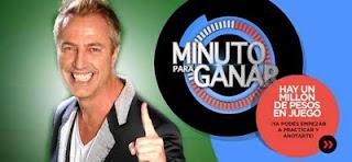 """En""""Minuto para ganar"""" ganaron 500 mil pesos. Minuto para ganar del domingo 11 de septiembre"""