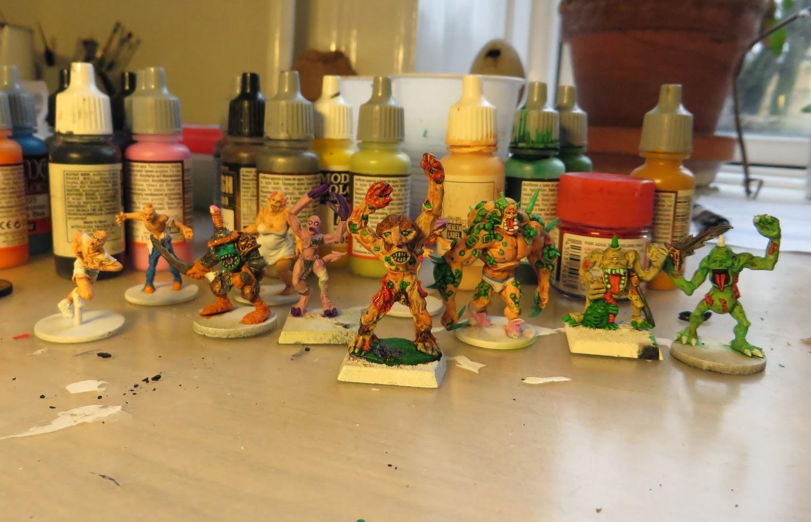 Paint, toxic, zombies, zombicide, nurgle