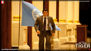 Salman Khan running  HD Wallpaper from Ek Tha Tiger