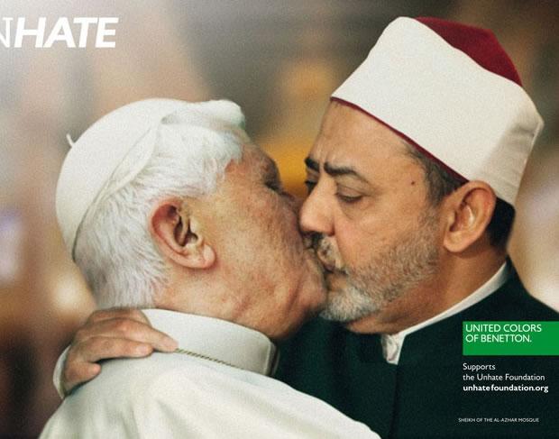 Papa Bento XVI com o Imã do Cairo, Safwad Hagazi (Foto: Divulgação)